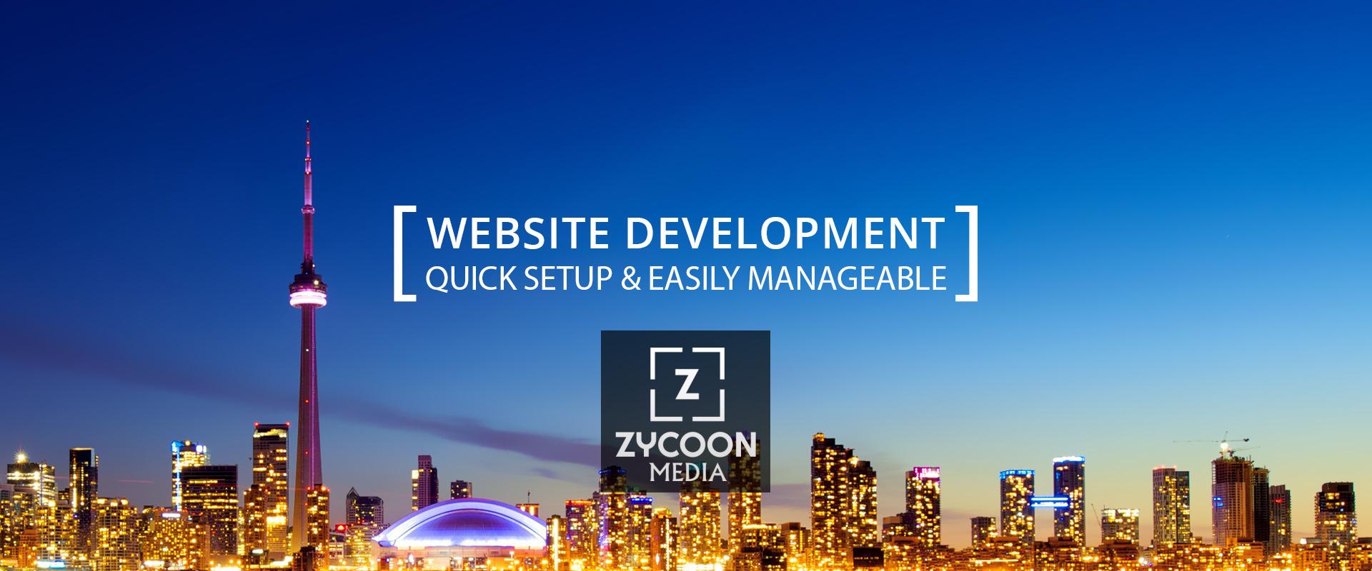 Quick Easy Website Building Toronto