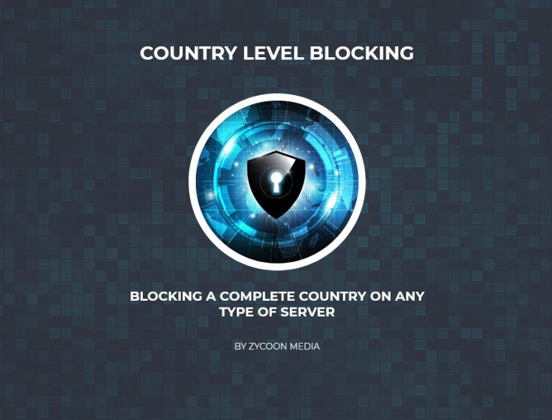 Country Blocking Using Firewall