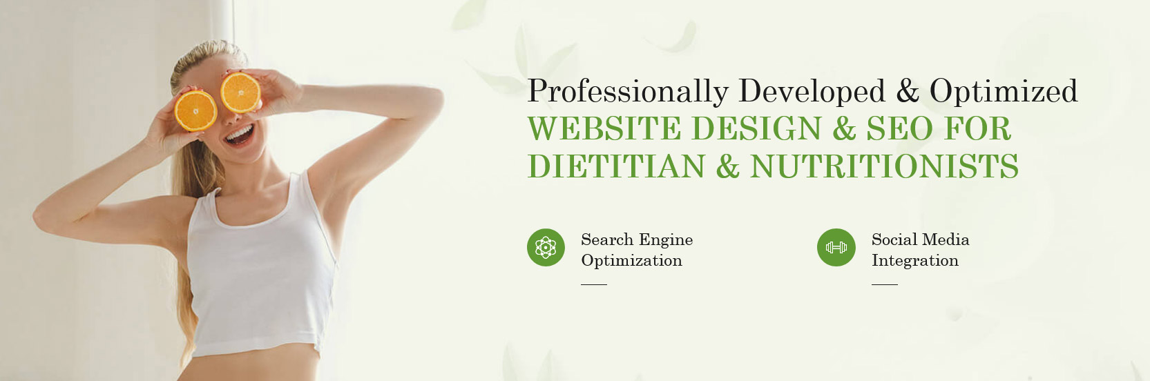 Dietitian Website Development Canada