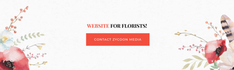 Flower Shop Website Design