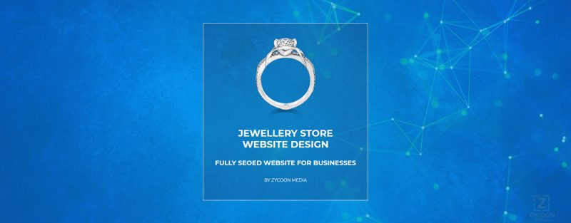 Jewellery Store Website Design