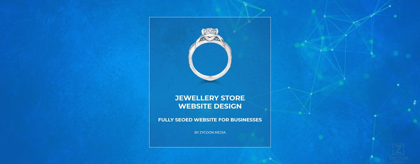 Jewellery Store Website Design