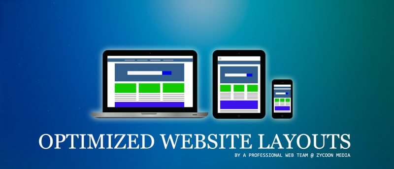optimized website layouts toronto