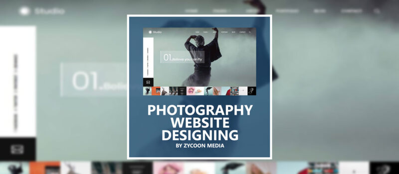 Photography Website Design Toronto Canada