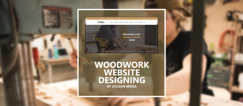 Woodwork Website Design Seo