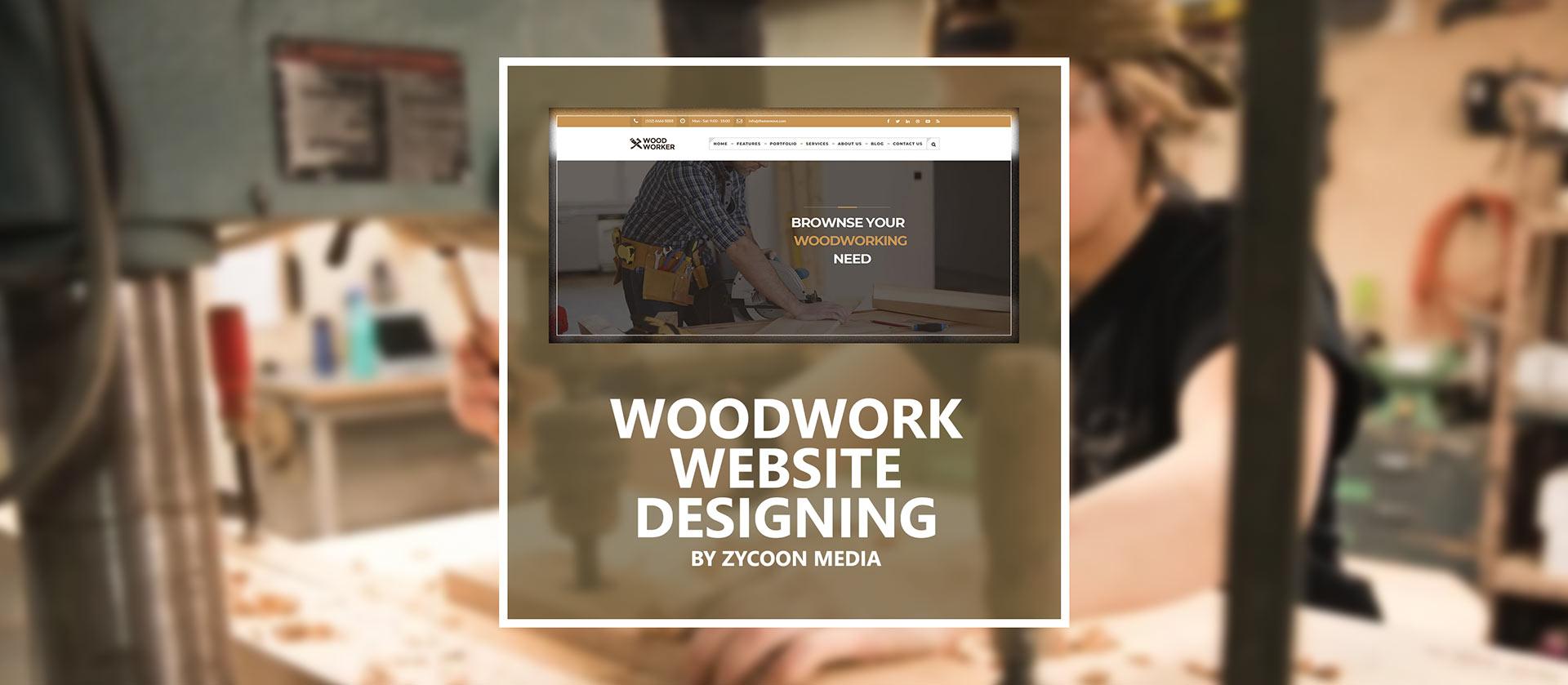 Woodwork Website Design Seo