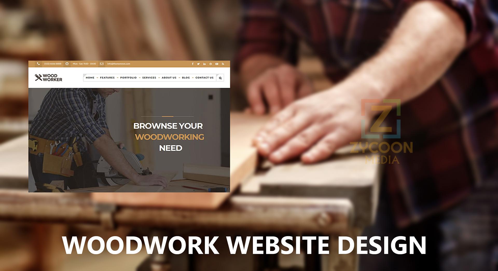 Woodwork Website Design